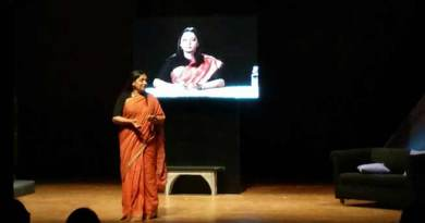Sabana Azmi perform Broken Images in G Plus Guwahati Theatre Festival 2017