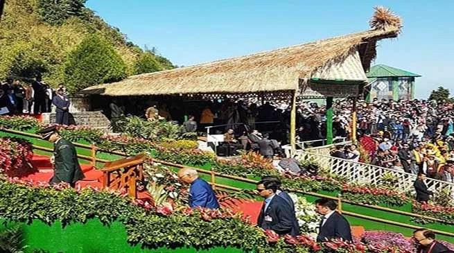President Ram Nath Kovind inaugurates Hornbill Festival