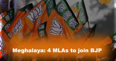 Meghalaya: 4 MLAs will resign from Assembly and to join BJP