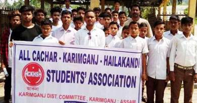 Assam: ACKKHSA protest against deteriorating law and order