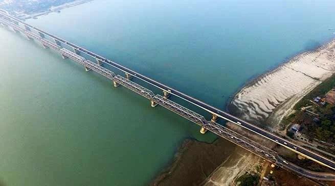 Assam:NF Railway using Drones for inspection of bridges