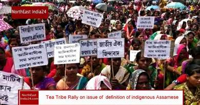 Assam: Tea Tribes Adibasis Rally on issue of indigenous Assamese