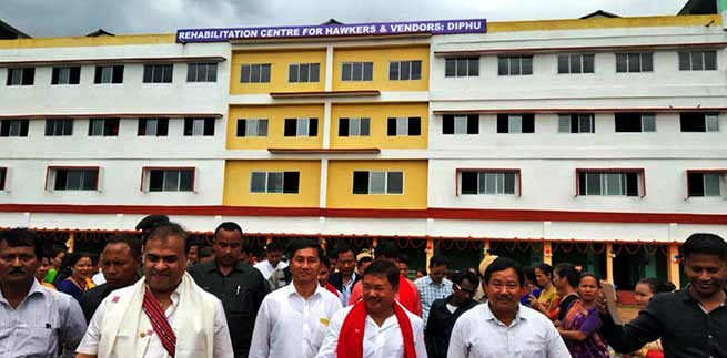 Assam: Dr Himanta inaugurates KAAC secretariat building in Diphu