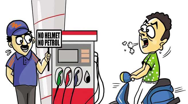 Assam:  No helmet, no petrol- Hailakandi district administration enforces the rule