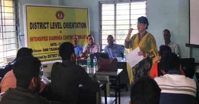 Assam:  Hailakandi gears up to launch Intensified Diarrhoea Control Fortnight