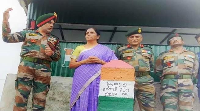 Nagaland: Defence Minister visits Indo-Myanmar Border