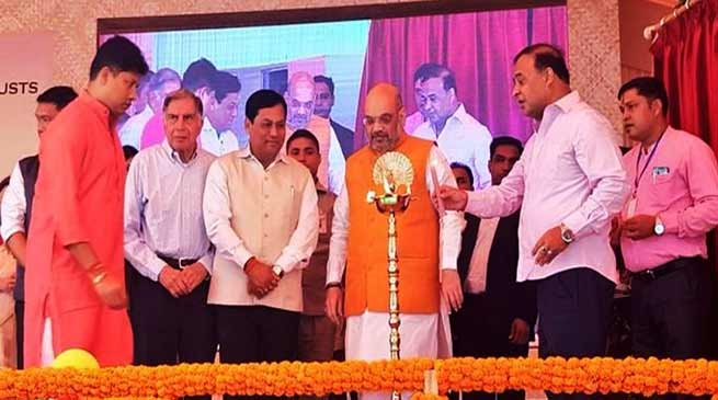 Assam Govt with Tata Trust launches cancer care centers projects