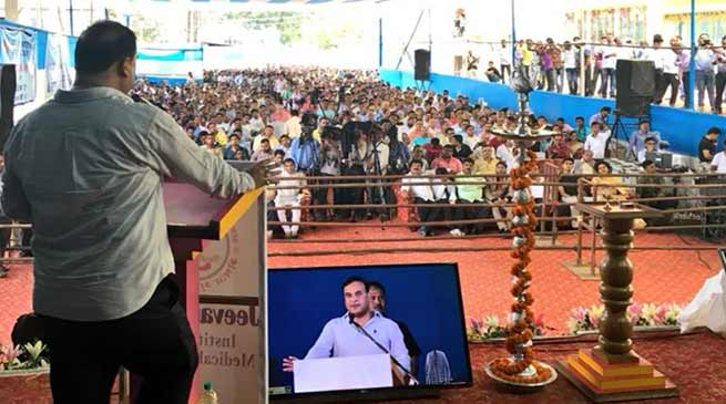 Assam: 2000 people benefited under Atal Amrit Abhiyan- Himanta