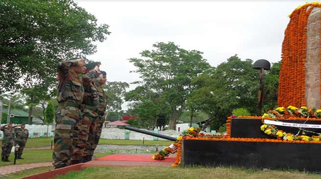Assam: Red Horn Division Celebrates 43rd Rising Day