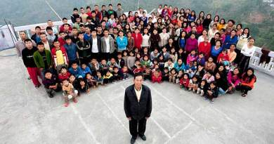 Mizoram: Man with 38 wives, 90 children, celebrates his 74th Birthday