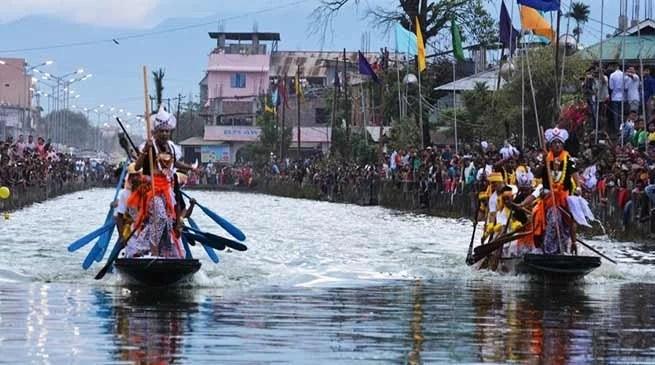 Manipur observed Heikru Hidongba festival