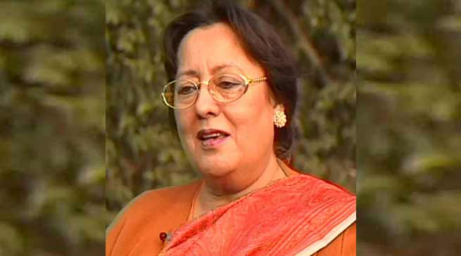 Manipur:  Najma Heptulla hails Ordinance on triple talaq