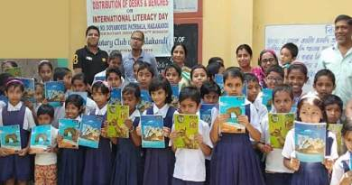 Assam: Rotary Club of Hailakandi donated desks, benches and study materials