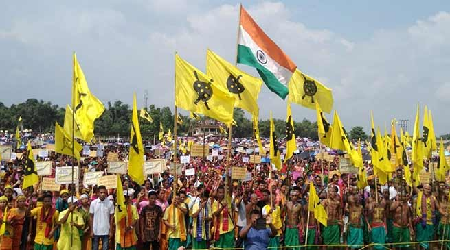 Assam: ABSU organises mega peoples gathering for Bodoland