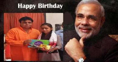 Assam: Pramod Swami celebrates PM Modi's Birthday in a unique style