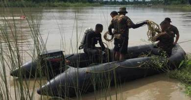 Assam:  Army conducting search for missing family in Dikhow River in Sibsagar