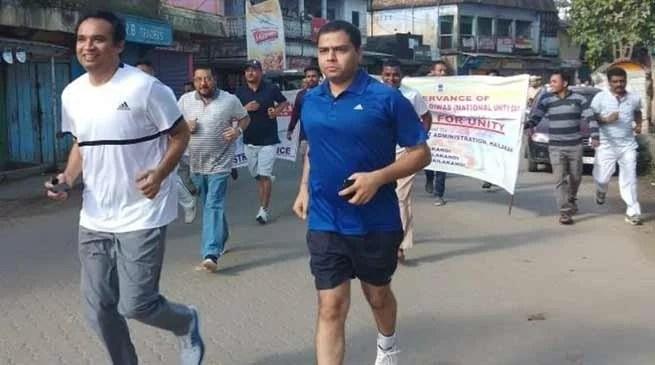 Assam: Hailakandi observes Rashtriya Ekta Diwas
