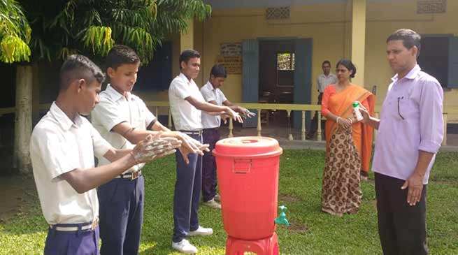 Assam: World Students' Day, Global Handwashing Day observed in Hailakandi