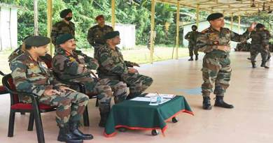 Mizoram:ARTRAC commander Visits CIJW School
