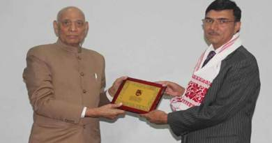 Assam: Kaziranga University Organizes Expert Talk by Rajiv Yadav, Chairman of Brahmaputra Board