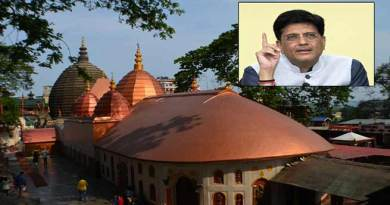 Assam: Piyush Goyal promises to name one train after the Goddess Kamakhya