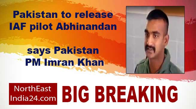 IAF pilot Abhinandan to be release on Friday- Says Pakistan PM Imran Khan