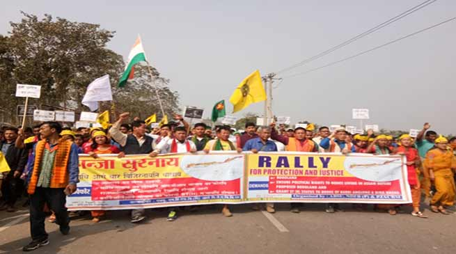 Assam: Bodos Rally for Bodoland, and against ST Bill
