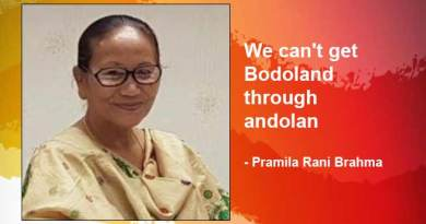 Assam: We can't get Bodoland through andolan- Pramila Rani Brahma