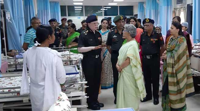 "Indian Army dedicates Palliative Care Centre ""SPARSH"" to Armed Forces Personnel"