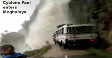 Cyclone Fani enters Meghalaya, heavy rainfall in Assam