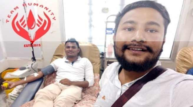 Assam: Muslim youth broke ROZA to donate blood for a Hindu patient