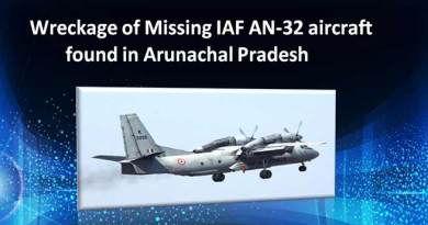 Wreckage of Missing IAF AN-32 aircraft found in Arunachal Pradesh