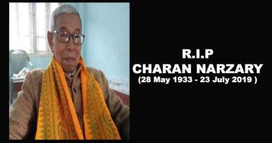 Assam: The great Bodo Leader Charan Narzary passes away