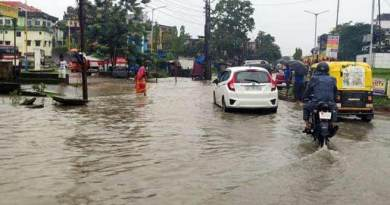 Assam: Rivers in spate in Hailakandi district