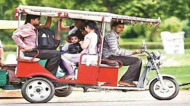 Assam: Drive against unregistered e-rickshaws in Hailakandi