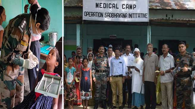 Assam: Army extends a healing touch at Udiana