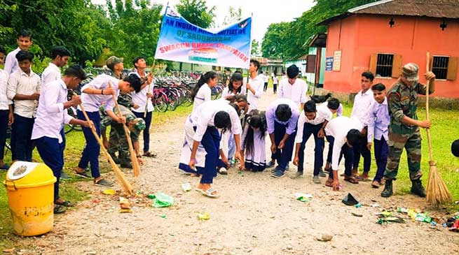 Indian Army strives to ensure success of Swachhata Abhiyan