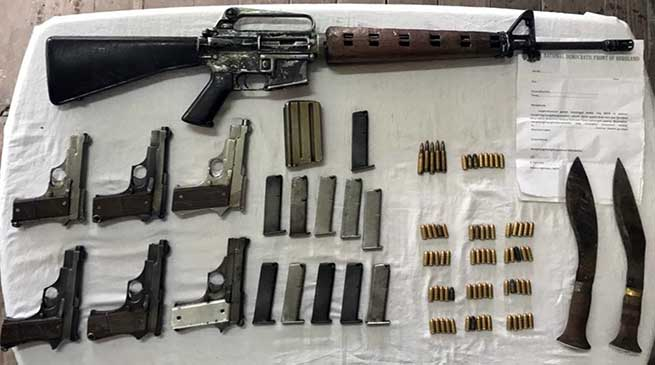 Assam: Indian Army apprehended 6 NDFB militants