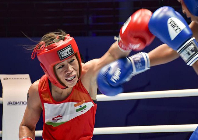 Mary Kom settles for Bronze after losing semis at Women's World Boxing Championships