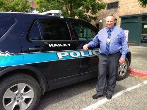 Hailey Chief of Police Jeff M. Gunter will escort the rally to the capitol city of Boise