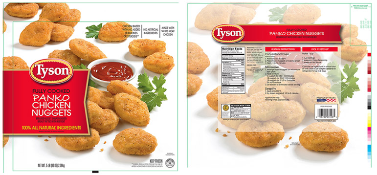 recipe: tyson panko chicken nuggets nutrition facts [28]
