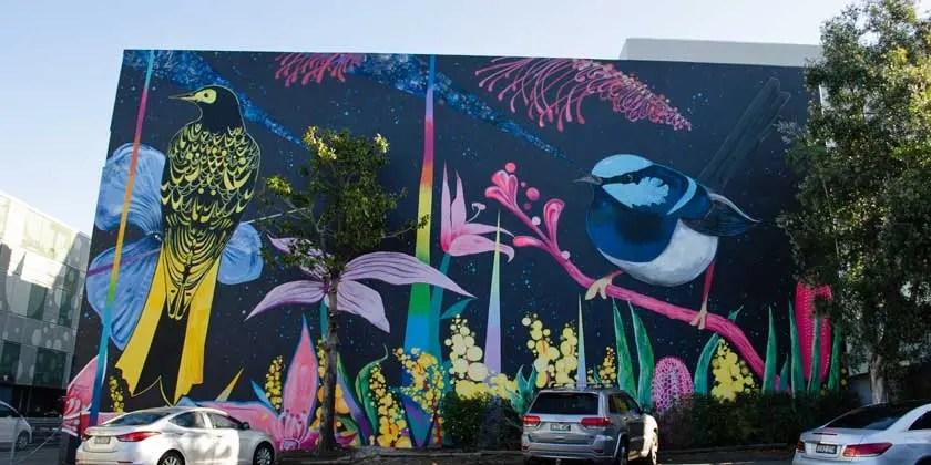 Mona Vale mural complete