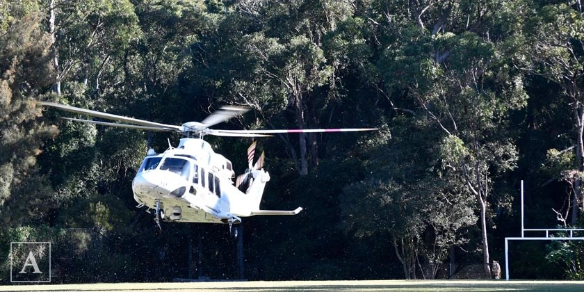 Warriewood winch out