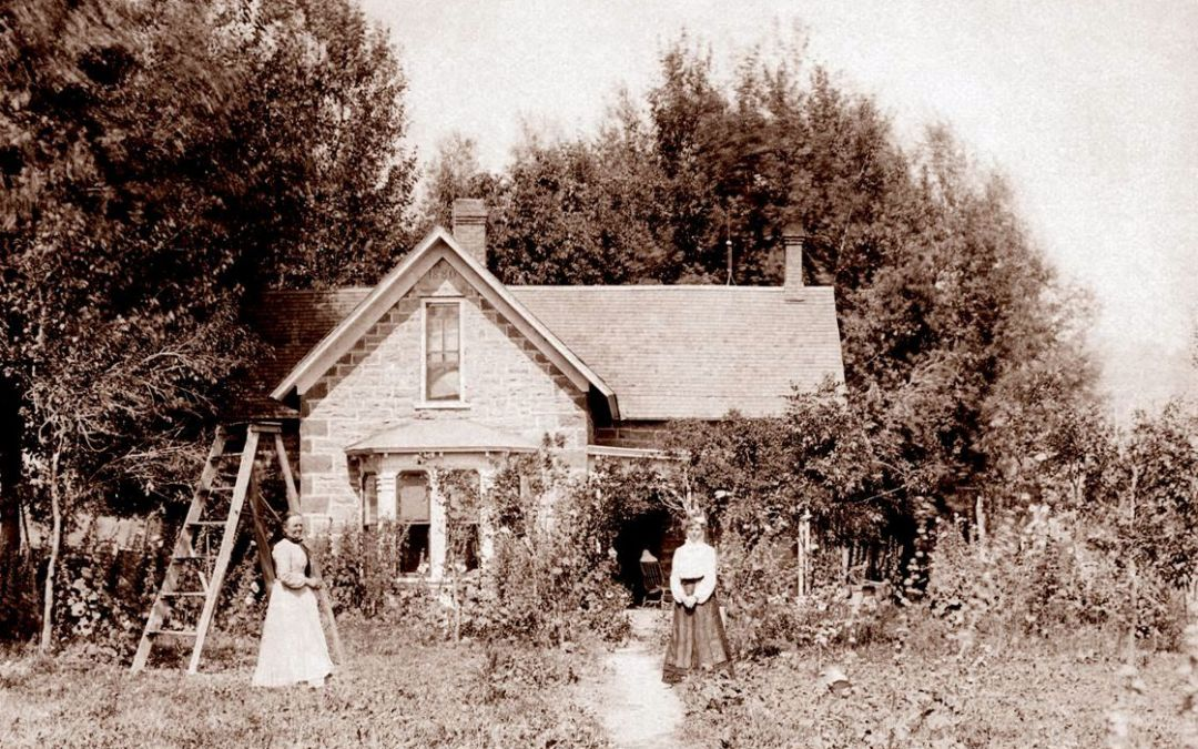 Then & Now: The Jacob and Elizabeth Flowers House