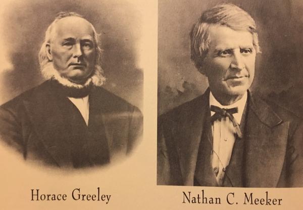 Horace Greeley – Man with a Neckbeard