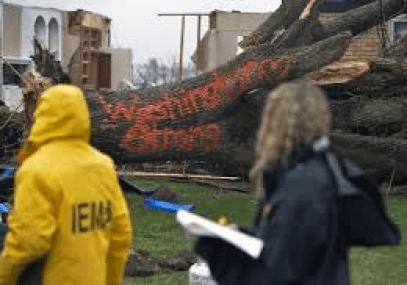 tornado in Washington Ill