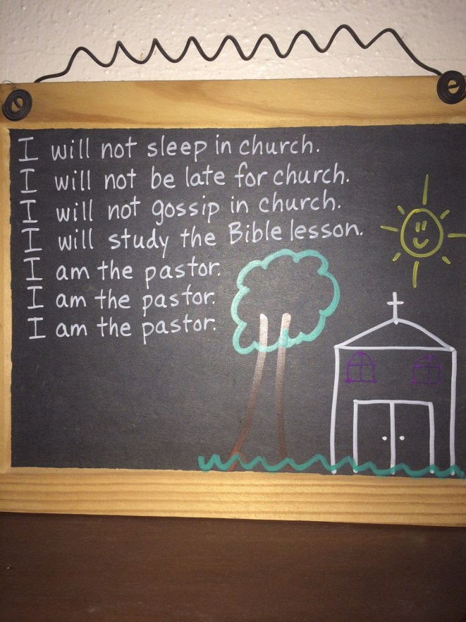 I am the Pastor