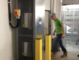 Vertical Air Barrier Install