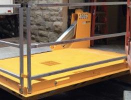 Custom Loading Drawbridge Solution