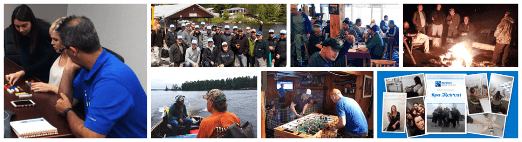 Northern Dock Systems' team building activities
